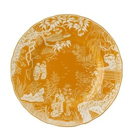 Royal Crown Derby Royal Crown Derby Mikado Cantaloupe Dinner Plate