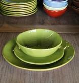 "R Wood Studio R. Wood Studio 3-Pc. Place Setting (10.5"" Dinner Plate, 8"" Dessert/Salad Plate, 6.5"" Cereal Bowl)"