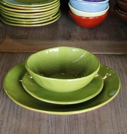 "R Wood Studio R. Wood Studio 3-Pc. Place Setting (10.5"" Dinner Plate, 8"" Dessert/Salad Plate, 6.5"" Cereal Bowl)"