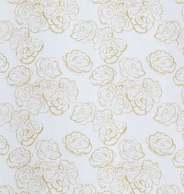 steve mckenzie's Honey Mini Rose on Cotton Sateen
