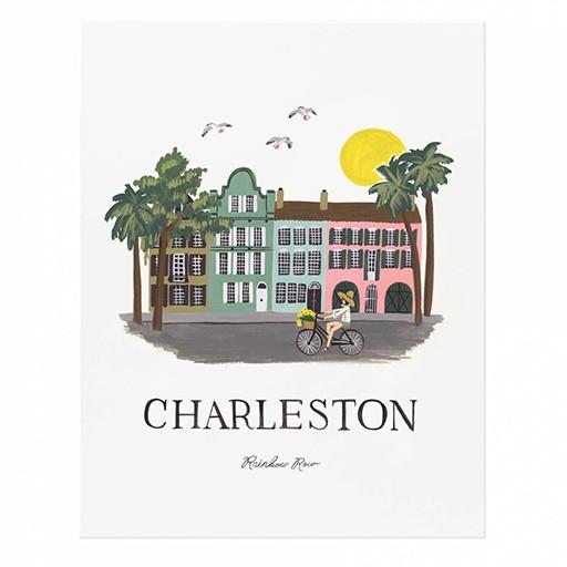 "Rifle Paper Co Charleston Print 11x14"""