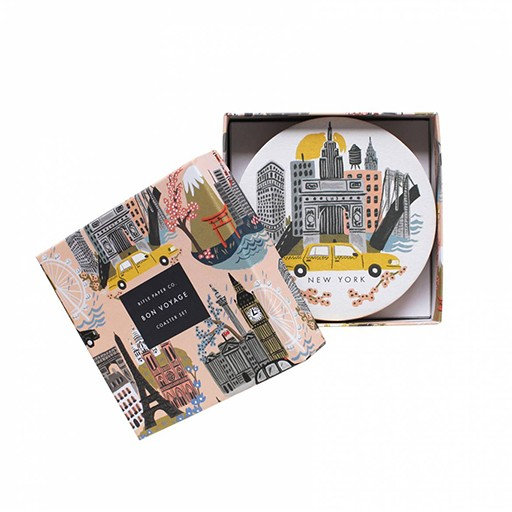 Rifle Paper Co Cities Coaster Set/8