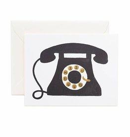 Rifle Paper Co Hello Telephone Card Blank Inside