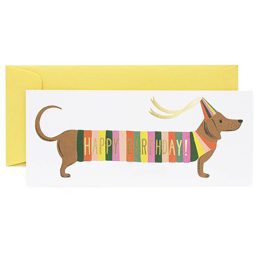 Rifle Paper Co Hot Dog No. 10 Card Blank Inside