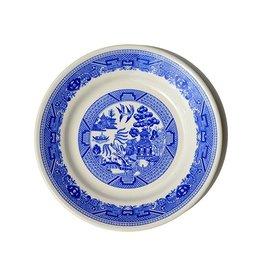 Vintage Blue Willow Dinner Plate