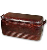 Leather Wrapped Igloo Cooler
