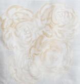 "steve mckenzie's Honey Rose Arrangement Pillow 24""x24"" (2) printed"