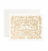 Rifle Paper Co Rose Gold Thank You Card Blank Inside