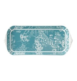 Royal Crown Derby Royal Crown Derby Mikado Turquoise Sandwich Tray
