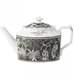 Royal Crown Derby Royal Crown Derby Mikado Taupe Teapot Small 30 oz.