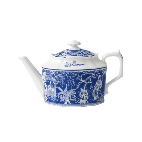 Royal Crown Derby Royal Crown Derby Mikado Blue Teapot Small 30 oz