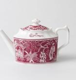 Royal Crown Derby Royal Crown Derby Mikado Pink Teapot Small 30 oz.