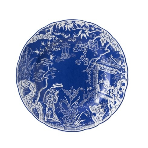 Royal Crown Derby Royal Crown Derby Mikado Blue Salad Plate