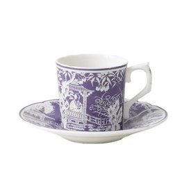 Royal Crown Derby Royal Crown Derby Mikado Lavender Coffee Cup