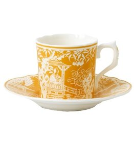 Royal Crown Derby Royal Crown Derby Mikado Cantaloupe Coffee Cup