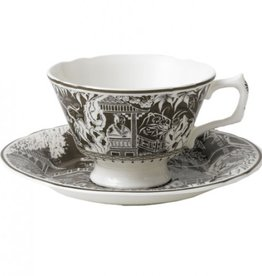 Royal Crown Derby Royal Crown Derby Mikado Taupe Breakfast Cup