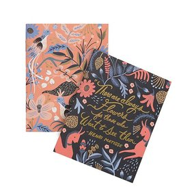 Rifle Paper Co Pair of 2 Folk Pocket Notebooks