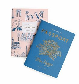 Rifle Paper Co Pair of 2 Passport Pocket Notebooks