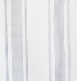 steve mckenzie's Sky French Stripe on Cotton Sateen
