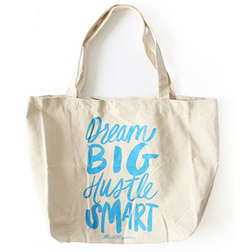 Thimblepress Dream Big Hustle Smart Tote Bag