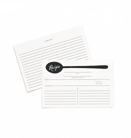 Rifle Paper Co Charcoal Spoon Recipe Cards Pack of 12