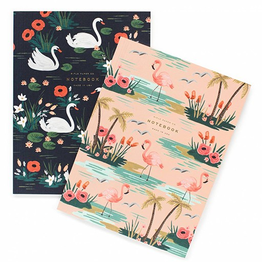 Rifle Paper Co Pair of 2 Birds of a Feather Notebooks