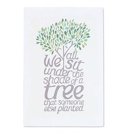 "Thimblepress Shade of A Tree Small Art Print 8x10"""