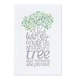 "Thimblepress Shade of A Tree Large Art Print 12x18"""
