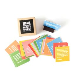 Thimblepress Small Squares With Mighty Words Box