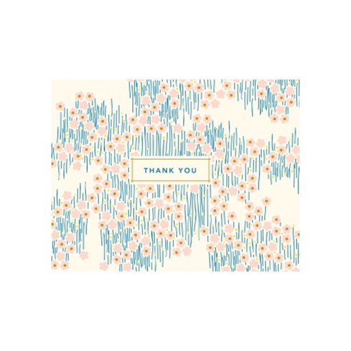 Thank You Boxed Cards s/8 Bitsy