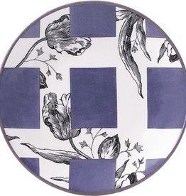 Gien Allure Tulipes Appetizer Plate Violine