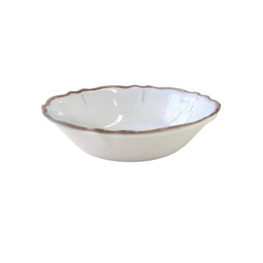 Le Cadeaux Melamine Cereal Bowl Rustica Antique White