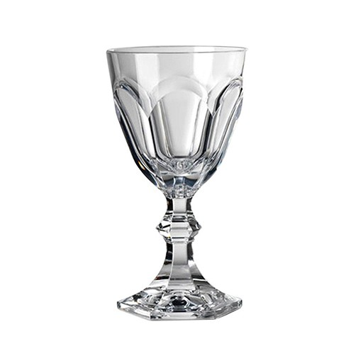 "Acrylic Glassware Acrylic Dolce Vita Water Goblet Clear 6.5""H"