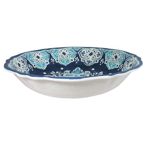 """Le Cadeaux Havana 13.75"""" Melamine Salad Bowl"""