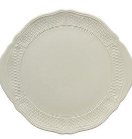 Gien Pont Aux Choux White Cake Platter