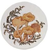 Gien Chanterelle Appetizer Plate-Chanterelle