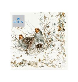 Gien Sologne Cocktail Napkins <br /> 20 per pack