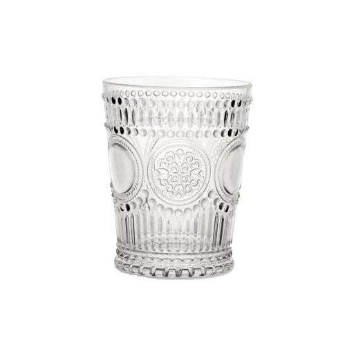 Acrylic Glassware Arabesque Clear Water Acrylic Glass 11.5 oz