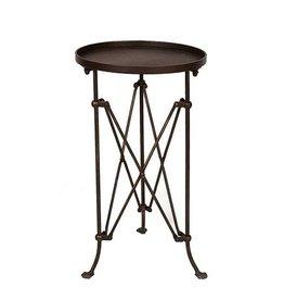 """Bronze Campaign Table 14.5""""D x 25""""H"""