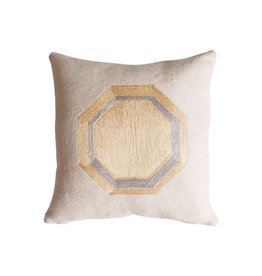 "Tribeca Octogan Pillow 12x12"""