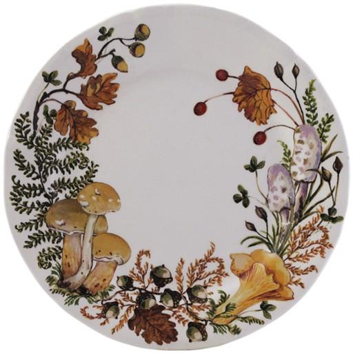 Gien Chanterelle Dessert Plate