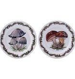 Gien Chanterelle Coasters Set/2