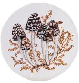 Gien Chanterelle Appetizer Plate Coprins