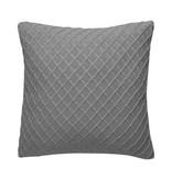 Diamond Pillow 100% cotton Grey & Insert