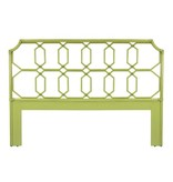 Selamat Regent Queen Headboard - Kiwi Green