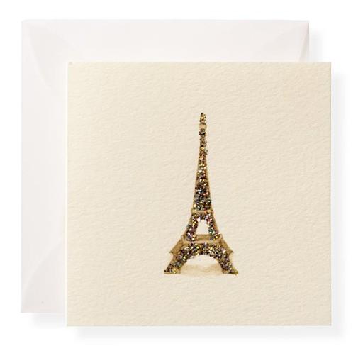 Eiffel Tower Enclosure Card