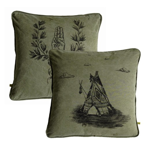 Scouts Honor + Teepee Pillow