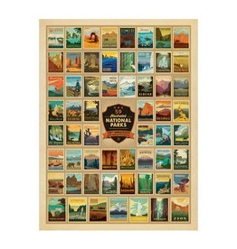 True South Puzzle 100th Anniversary of the National Park Service Puzzle
