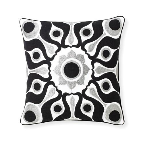 Selamat Solar Black Pillow