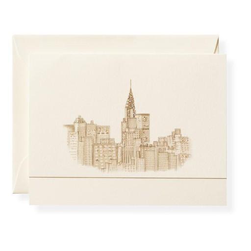 Skyline NYC Card